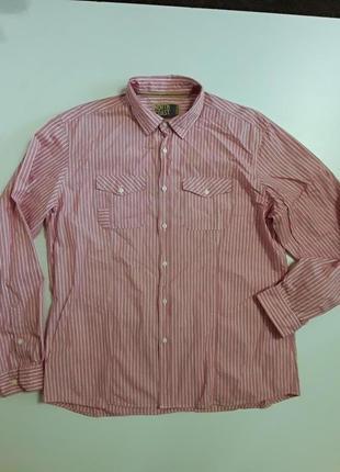 Фирменная хлопковая классная рубашка