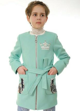Шикарне кашемірове пальто