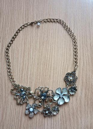 Винтажное колье ожерелье суперцена