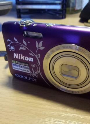 Продам цифровой фотоаппарат с видео Nikon, COOLPIX S2900+ чехол