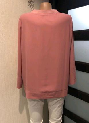 Лёгкая свободная рубашка кофточка блузка