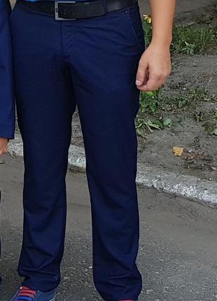 Мужские классические синие брюки