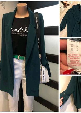 Лёгкий тонкий свободный пиджак жакет кардиган
