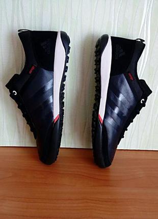 Кроссовки кожаные  adidas daroga мужские.