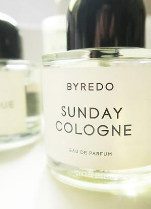 Byredo Sunday Cologne Оригинал EDP  2 мл Затест_парф.вода