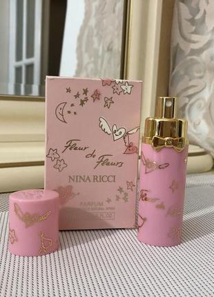 Духи винтажные nina ricci eau de fleurs 7,5 мл