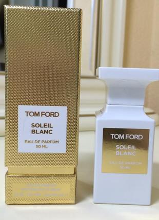 Духи tom ford soleil blanc, пв 50 мл