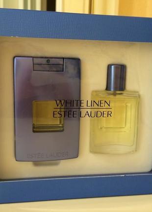 Estee lauder white linen, пв два флакона по 15 мл