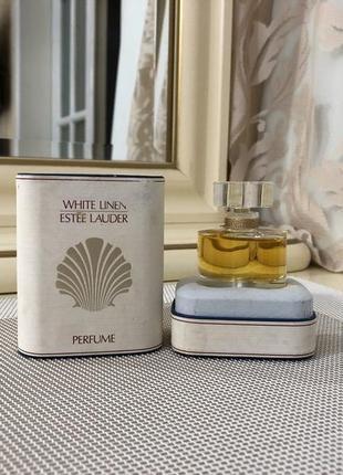 Духи винтаж, estee lauder white linen, 7, 5 мл флакон опечатан