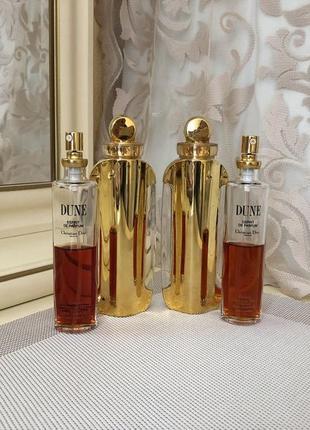 Духи винтажные christian dior dune, esprit de parfum, 50 мл