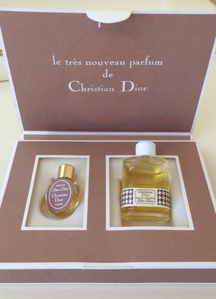 Духи винтажные christian dior dior-dior, набор, оригинал