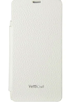 Чехол-книжка Vetti Craft Sony Xperia Z1 mini Hori Cover white