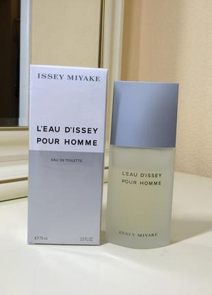 Issey miyake pour homme, тв 75 мл, оригинал