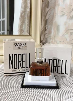 Духи винтажные norell norell, 15 мл, флакон опечатан