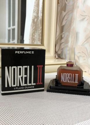 Духи винтажные norell norell ii 30 мл, флакон опечатан