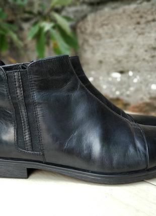 Кожаные деми ботинки vagabond 39 р