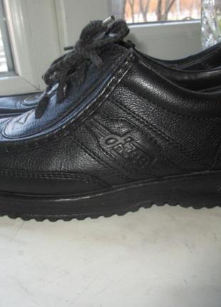 Кожаные туфли ecco 42 р