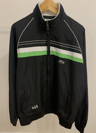 Куртка ветровка от бренда lacoste