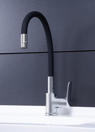 Смеситель для кухни с рефлекторным изливом Qtap Linea