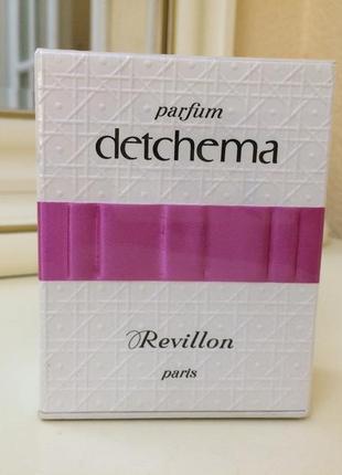 Духи винтажные revillon detchema, 30 мл, слюда