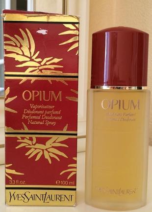 Духи винтажные yves saint laurent opium, 100 мл