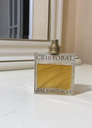 Духи винтажные cristobal balenciaga, тв 50 мл