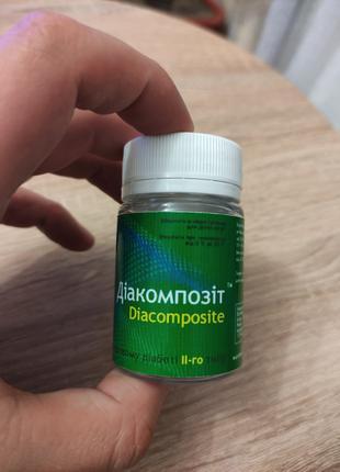 Диакомпозит для лечения 2-го типа диабета