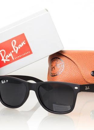 Солнцезащитные очки Ray Ban Wayfarer с поляризацией