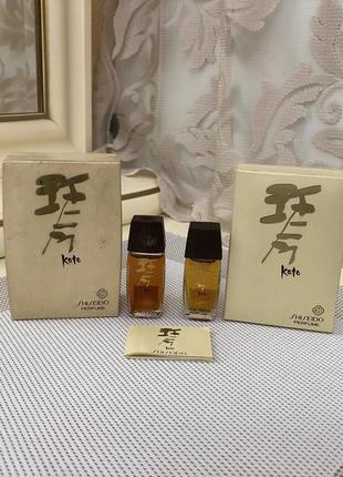 В наличии духи винтажные shiseido koto