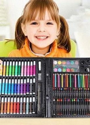 Большой набор для рисования Art set на 150 предметов для творч...