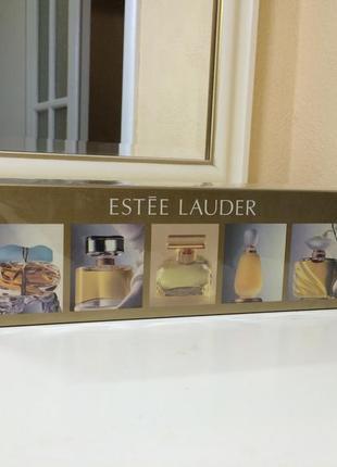 Духи винтажные estee lauder, набор в слюде
