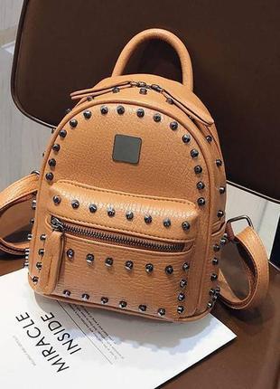 Рюкзак взрослая, коричневый