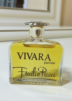 Духи винтажные emilio pucci vivara, 15 мл