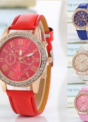 Часы женские geneva  модные наручные