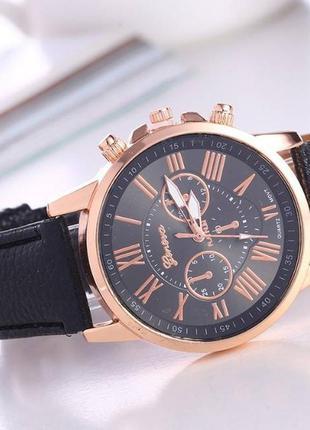 Часы geneva черный