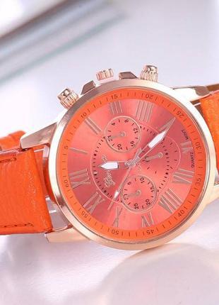 Часы geneva оранжевый