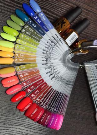 Гель-лак для ногтей F.O.X Spectrum 7 мл есть все цвета