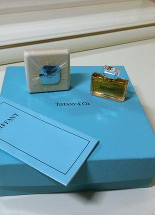 Духи винтажные tiffany parfum, 7, 5 мл, набор