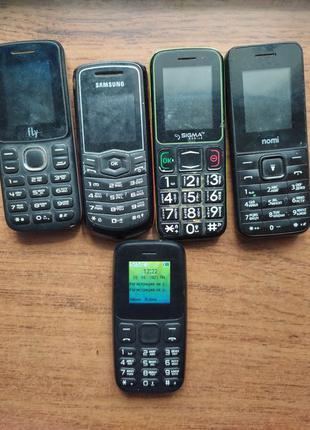 Кнопочные рабочие мобильные телефоны кнопочный телефон Номи ра...