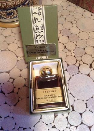 Духи винтажные yasmina hakim's perfumes of ancient egypt