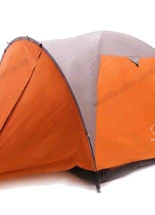4 х местная палатка wolf lider p-540 (оранжевая)