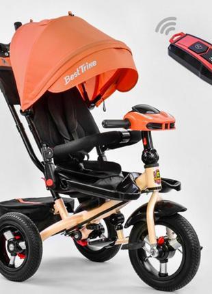 Детский трехколесный велосипед для девочки 6088 Best trike,бес...