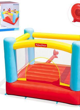 Детский надувной игровой центр-батут Bestway 93549 Fisher Price