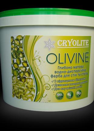 Фарба Olivine для стін та стель 10 литров.