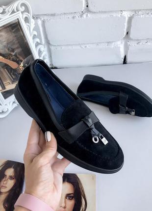 Лофери у стилі лоро піана, лоферы пиана, туфли, туфлі, черевики
