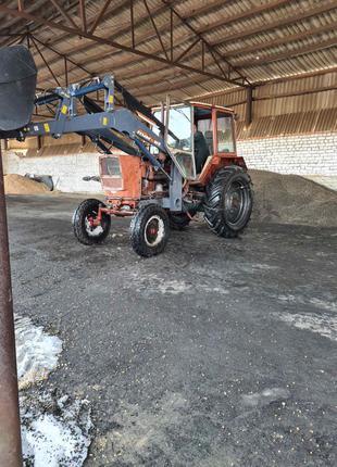 Навесной фронтальный погрузчик КУН на трактор МТЗ, ЮМЗ, Т-40