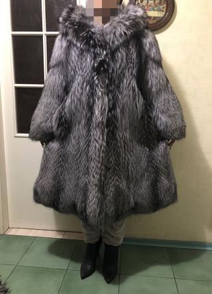 Шуба из Чернобурки