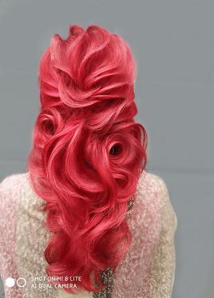 Причёска, локоны, пучёк, греческая коса, хвост