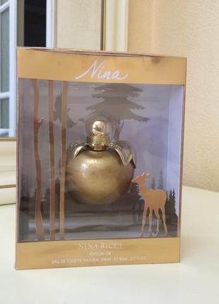 Nina ricci nina edition or, пв 80 мл