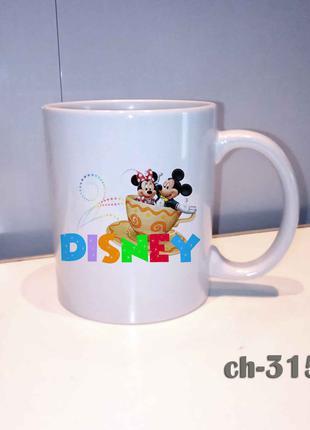 Чашка с принтом disney mini mikki mouse